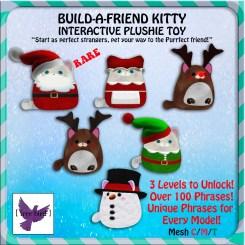 [ free bird ] Xmas Kitty Build-a-Friend Gacha Key