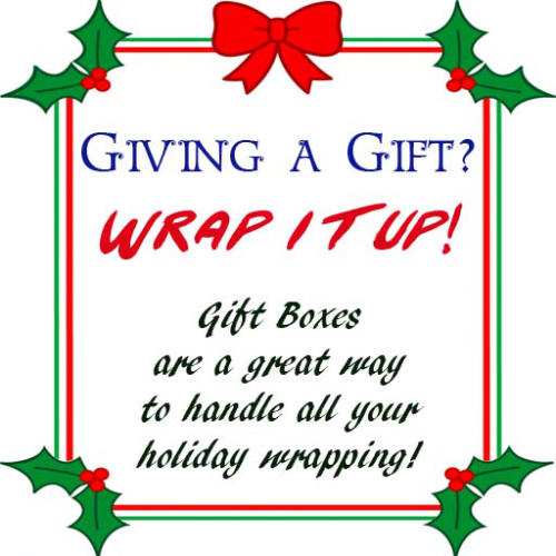 Gift Box Sign
