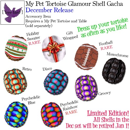 [ free bird ] My Pet Tortoise Dec Glam Shell Gacha Key (1).jpg
