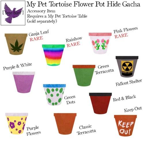 [ free bird ] My Pet Tortoise Flower Pot Hide Gacha Key.jpg