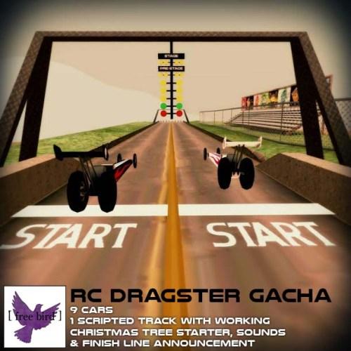 [ free bird ] RC Dragster Gacha Ad