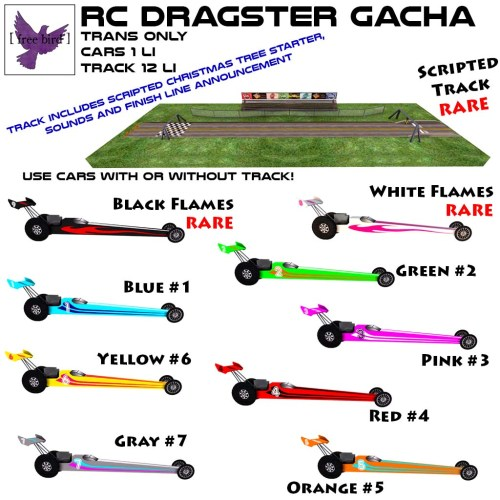 [ free bird ] RC Dragster Gacha Key