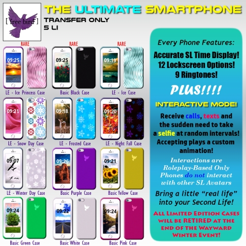 [ free bird ] Ultimate SmartPhone Gacha Key - Wayard Event