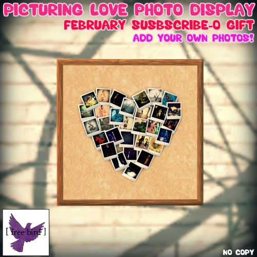 [ free bird ] Picturing Love Photo Display - February Subscribe-o Gift Ad.jpg