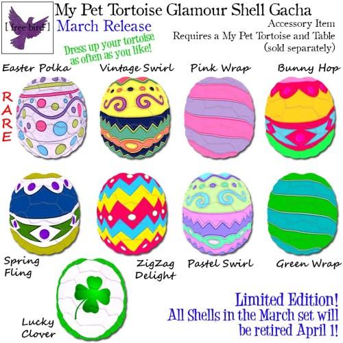 [ free bird ] My Pet Tortoise March Glam Shell Gacha Key.jpg