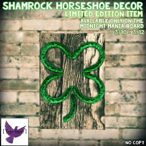[ free bird ] Shamrock Horseshoe Decor - MM Board.jpg