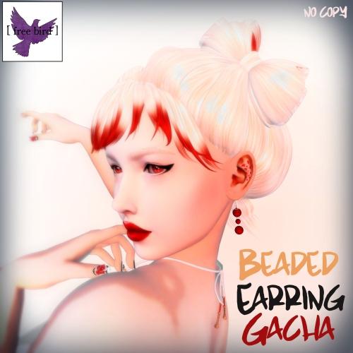 [ free bird ] Beaded Earring Gacha Ad.jpg