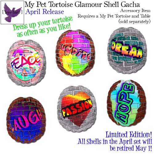 [ free bird ] My Pet Tortoise April Glam Shell Gacha Key.jpg