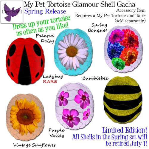 [ free bird ] My Pet Tortoise Spring Glam Shell Gacha Key (1).jpg