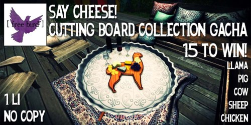 [ free bird ] Say Cheese Cutting Board Ad.jpg