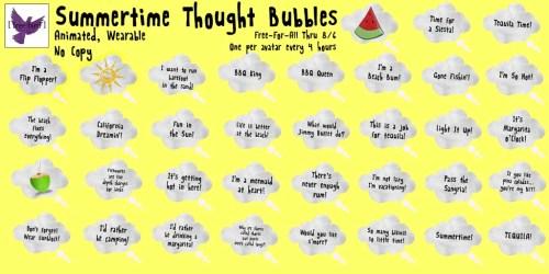 [ free bird ] Summertime Thought Bubbles FFA.jpg