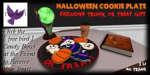 [ free bird ] Halloween Cookie Plate Ad - Trunk or Treat.jpg