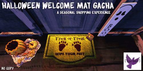 [ free bird ] Halloween Welcome Mat Gacha.png