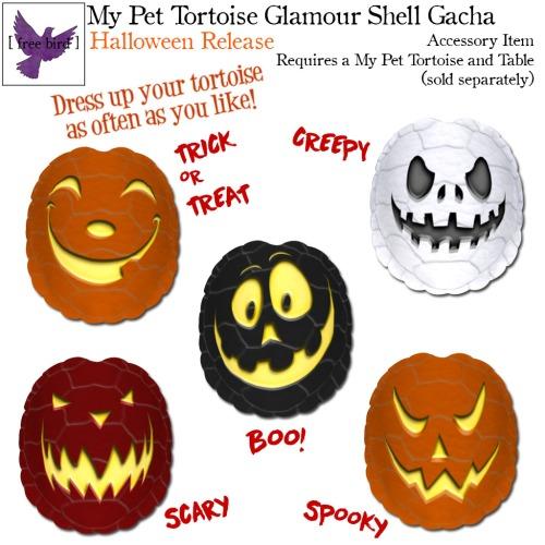 [ free bird ] My Pet Tortoise Halloween Glam Shell Gacha Key.jpg