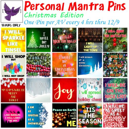 [ free bird ] Christmas Mantra Pins FFA.png