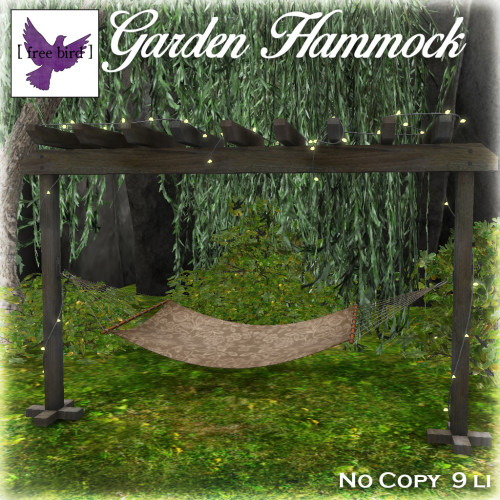 [ free bird ] Garden Hammock Ad.png