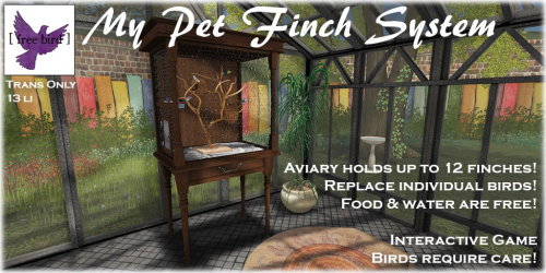 [ free bird ] My Pet Finch Ad.png